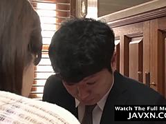 Sexy Japanese mommy and stepson movie episode 1